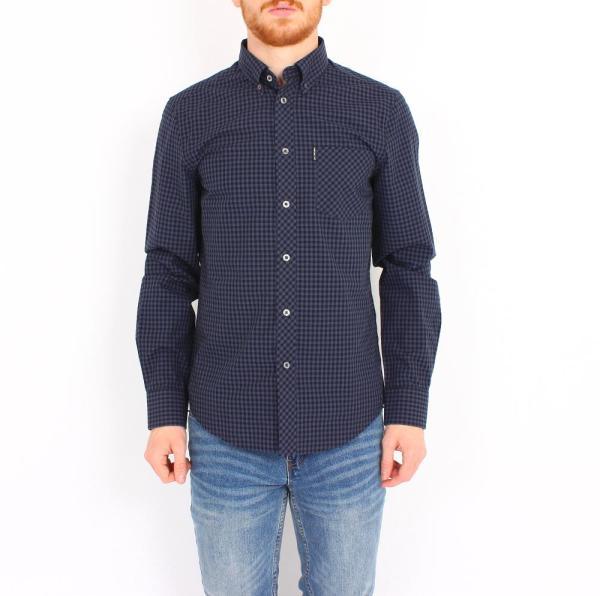 Gingham MOD L/S Shirt