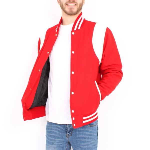 College Jacket Shoulder Stripes