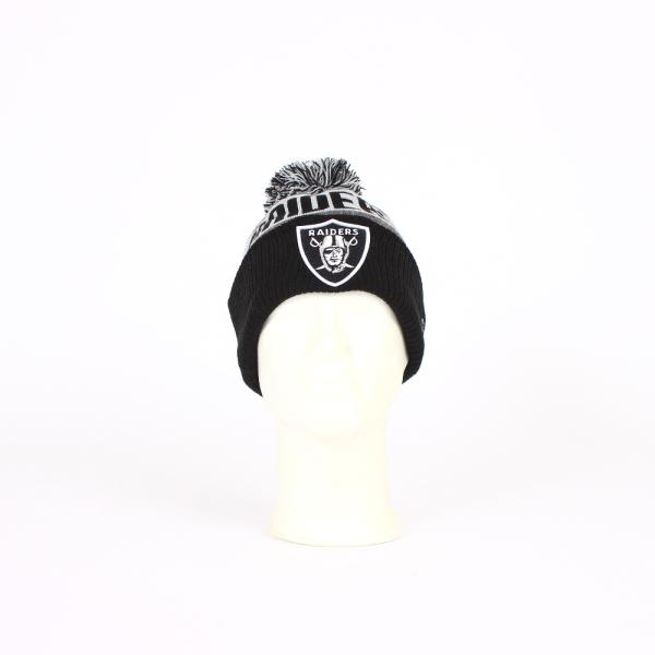 Team OAKLAND RAIDERS BOBBLE CAP