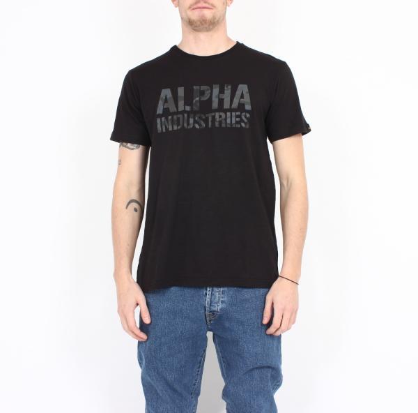 Camo Print T-Shirt