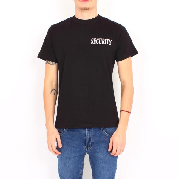 Security T-Shirt m. Doppeldruck