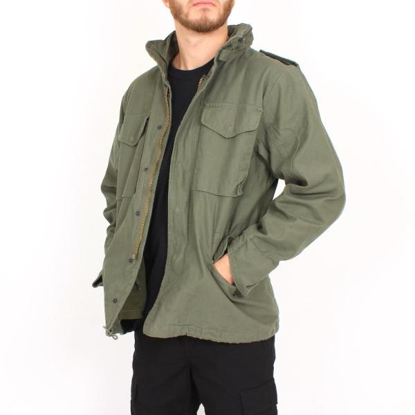 M65 Fieldjacket NYCO washed